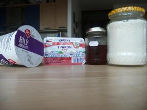 Kokosová zmrzlina - ingredience