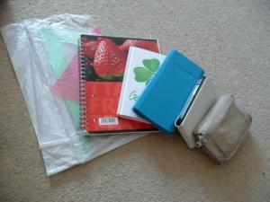 Věci do školní tašky