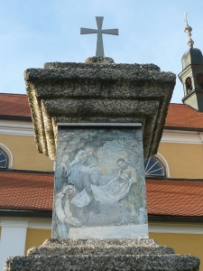 Křížová cesta Chlum u Třeboně - 14. zastavení