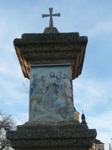 Křížová cesta Chlum u Třeboně - 10. zastavení