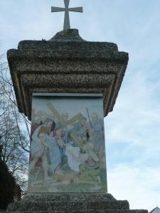 Křížová cesta Chlum u Třeboně - 6. zastavení