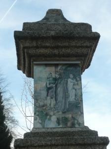 Křížová cesta Chlum u Třeboně - 1. zastavení