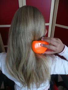 Rozčesávání vlasů