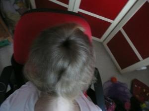 Rozprostření vlasů po drátěnce